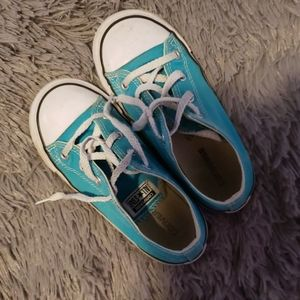 Converse teal size 10T girls